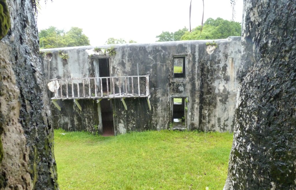 manda fort foulpointe site touristique